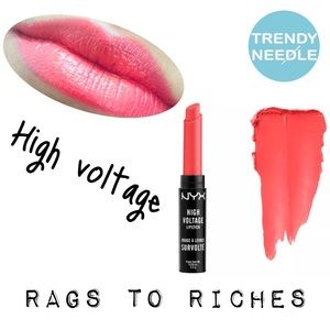 NYX High Voltage Lipstick Rags to Riches 👄